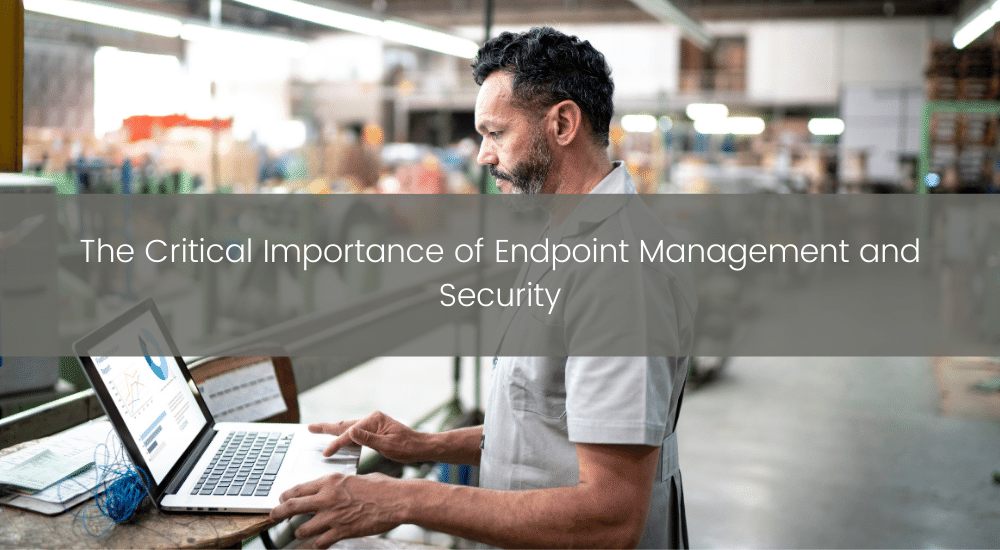 Importance of Endpoint Security and management