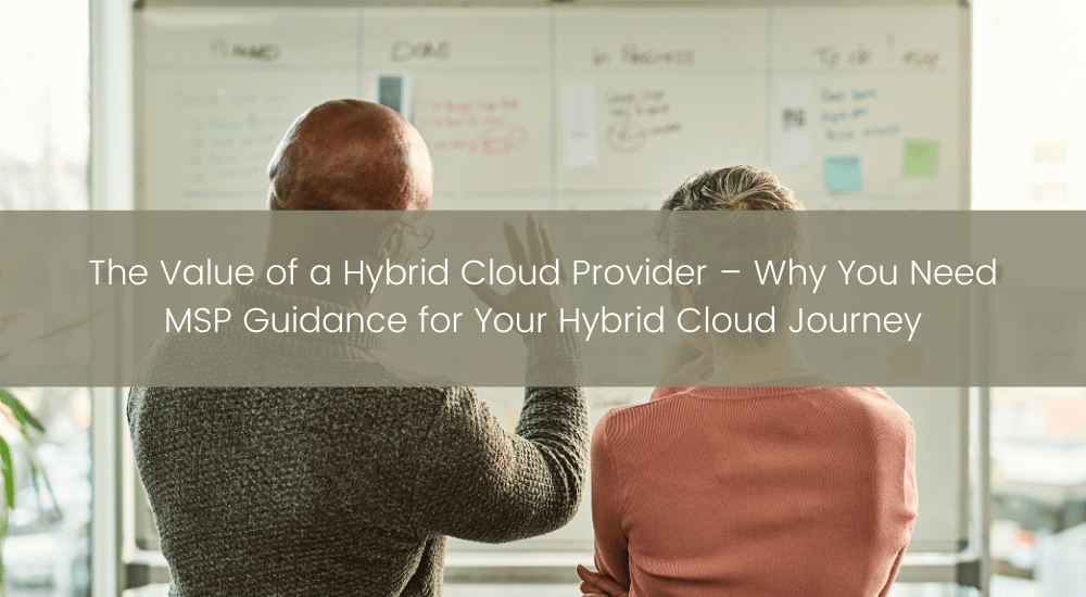 Value of a Hybrid Cloud Provider