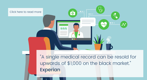 how much a single medical record is worth on the black market